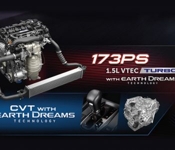 1.5L VTEC Turbo Engine with CVT Earth Dreams Technology